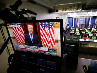 """Trump vraagt in afscheidsspeech om """"te bidden"""" voor Biden-administratie"""