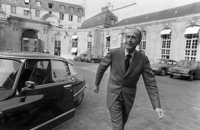 En 1974, lors de la campagne présidentielle.