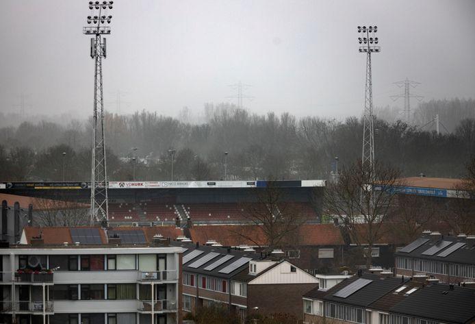 Na de wedstrijd Helmond Sport - Almere City FC was het buiten het stadion onrustig.