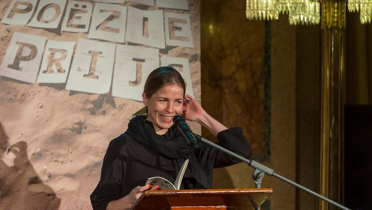 Maria Barnas is met Nachtboot een van de kanshebbers. Beeld anp