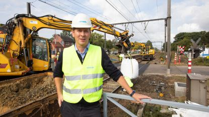 Infrabel voert grote onderhouds- en vernieuwingswerken uit aan de spoorinfrastructuur van de spoorlijn Hasselt - Tongeren