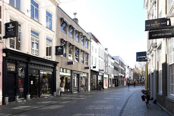 BREDA. Pix4Profs / Jan Stads.   De Veemarktstraat in Breda.