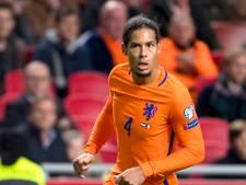 Van Dijk mogelijk nieuwe aanvoerder Oranje: 'Fantastische eer'