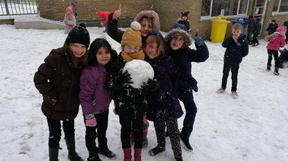 Eerste sneeuw zorgt vooral voor veel plezier en weinig verkeershinder