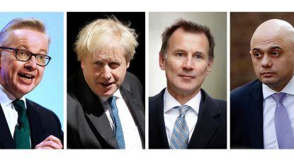 Boris Johnson en Jeremy Hunt in de running om May op te volgen als Brits premier