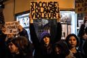 Demonstraties tegen Roman Polanski.