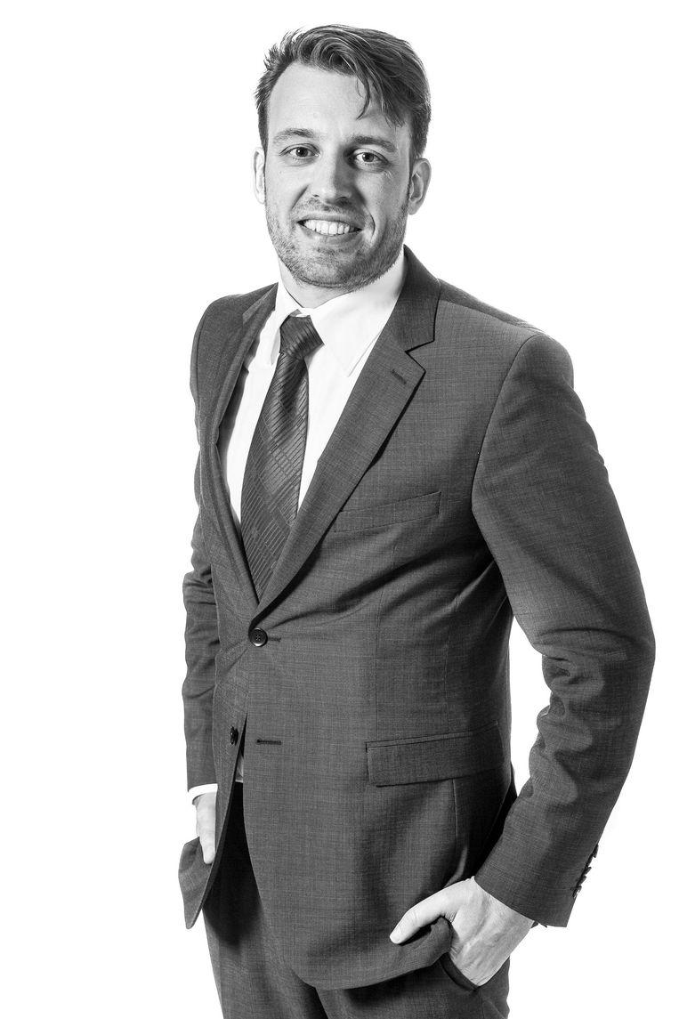 Jan-Bert Voege, raadslid voor D66 Amsterdam en woordvoerder lhbti-emancipatie Beeld Rink Hof