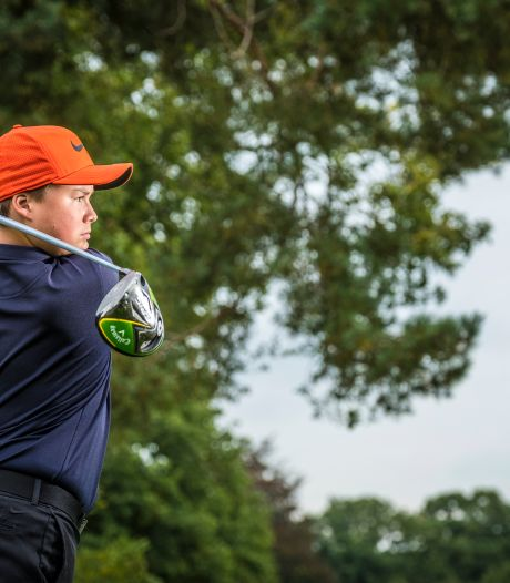 Zwols golftalent Macx (15) verslaat complete club in Hattem