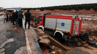 Brandweerman komt om bij zware overstromingen in Málaga