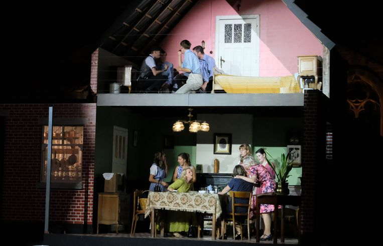 Het huis van de familie Van den Berg