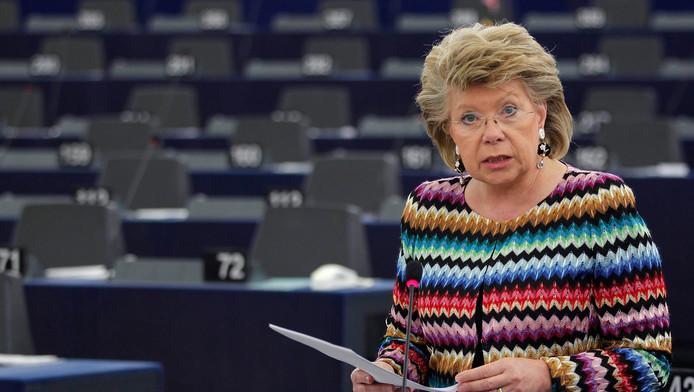 Europees commissaris Viviane Reding (Justitie)