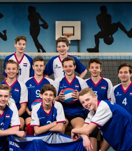 Schoolvolleyballers uit Enschede strijden voor de WK-titel in Kroatië