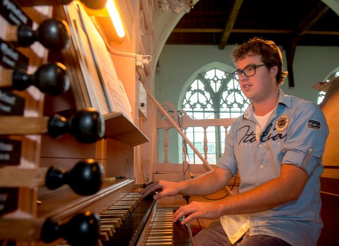 Onder anderen organist Marien Stouten werkt mee aan het concert