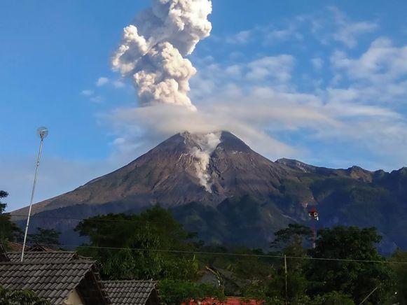 Vulkaan Merapi.