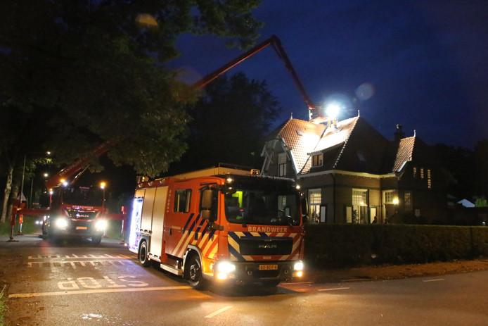 Schoorsteenbrand in Arnhem