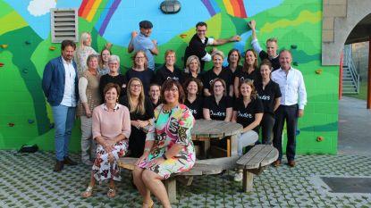 Regenboogschool Watervliet heeft nieuwe klimmuur