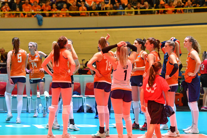 De teleurstelling is groot bij Oranje nadat Duitsland de finale haalt ten koste van Nederland.