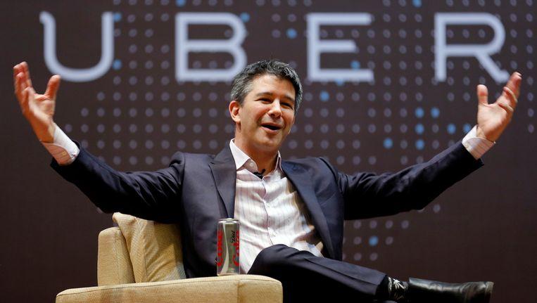 CEO van Uber Travis Kalanick.
