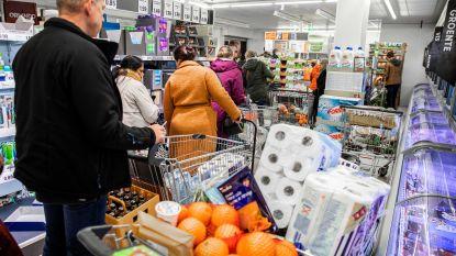 Belgische supermarkten realiseerden half miljard euro meer omzet sinds lockdown