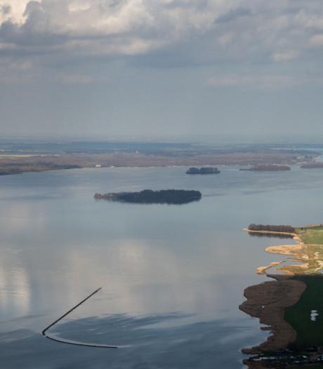 Mooi dat heldere water in het Veluwemeer, maar funest voor de beroepsvisserij