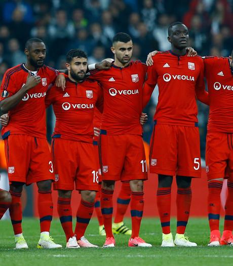 Olympique Lyon via strafschoppen door na beladen kwartfinale tegen Besiktas