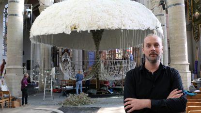 IN BEELD. Kunstwerk eert 'verrijzenis' van kerktoren Sint-Katharinakerk