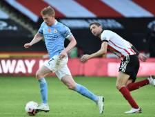 Manchester City vainqueur in extremis à Sheffield United, De Bruyne passeur