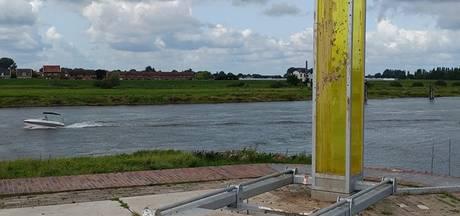 Opnieuw kunstwerk IJsselbiënnale doelwit vandalen, ditmaal in Zutphen
