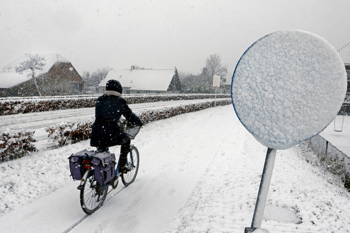 Op de fiets in de Etten-Leurse Grauw Polder.