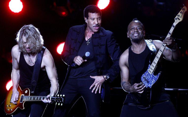 Lionel Richie, zelf in actie. Beeld ANP