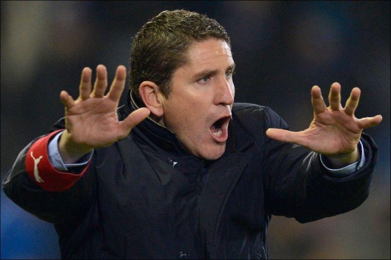 Juan Carlos Garrido werd de eerste Spaanse coach in de Belgische competitie. Zonder veel succes.