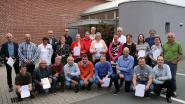 Rode Kruis Herenthout zet cursisten, bloedgevers en medewerkers in de bloemetjes