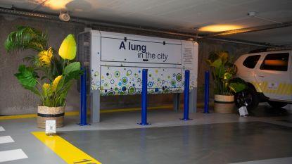 """Lucht in nieuwe Antwerpse parking is """"gezonder dan buiten"""""""