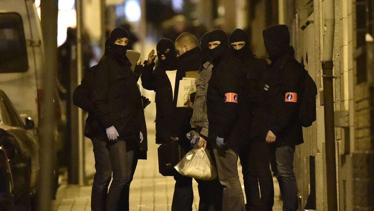 De politieactie in Molenbeek Beeld null