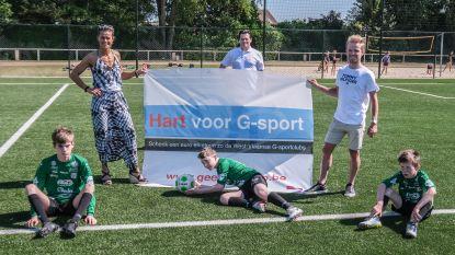 Gella Vandecaveye en Eli Iserbyt promoten steunactie voor G-sport
