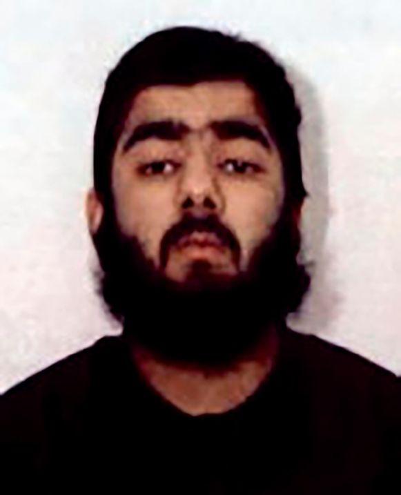 Usman Khan werd door omstanders heldhaftig overmeesterd.
