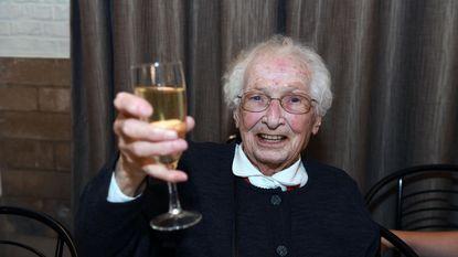 Leentje van Den Engel viert 100ste verjaardag