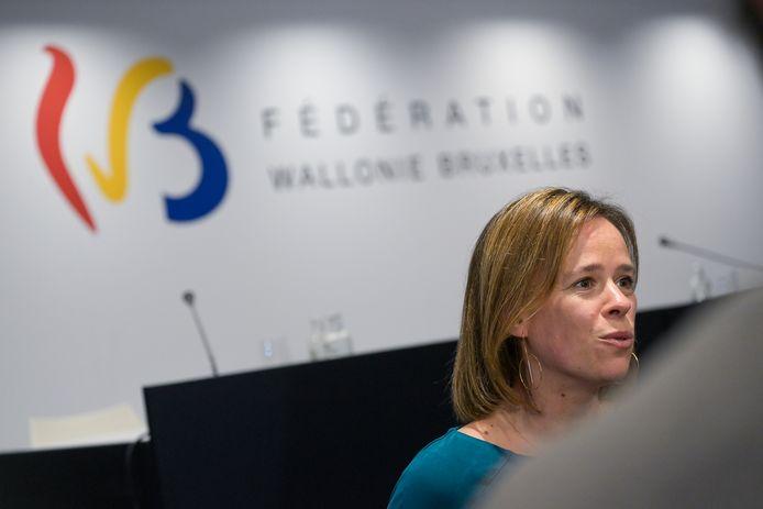 La ministre de l'Enseignement Caroline Désir