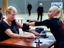 Gorcumse senioren sporten erop los voor fitheidstest
