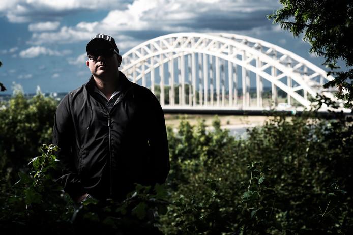 Danny M. - Deze foto is eerder verschenen bij een interview in Panorama. Danny M. en zijn advocaat hebben toestemming gegeven voor het gebruik van deze foto.