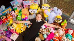 Nadat papa kanker kreeg: Ilyana (10) wil al haar knuffels aan kinderziekenhuis schenken