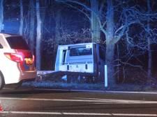 Ernstig ongeval op A1 bij Ugchelen, afrit in richting Apeldoorn afgesloten