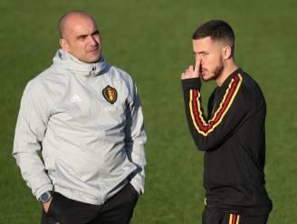 """Roberto Martínez maakt zich zorgen: """"Hazard moet veel kunnen spelen"""""""