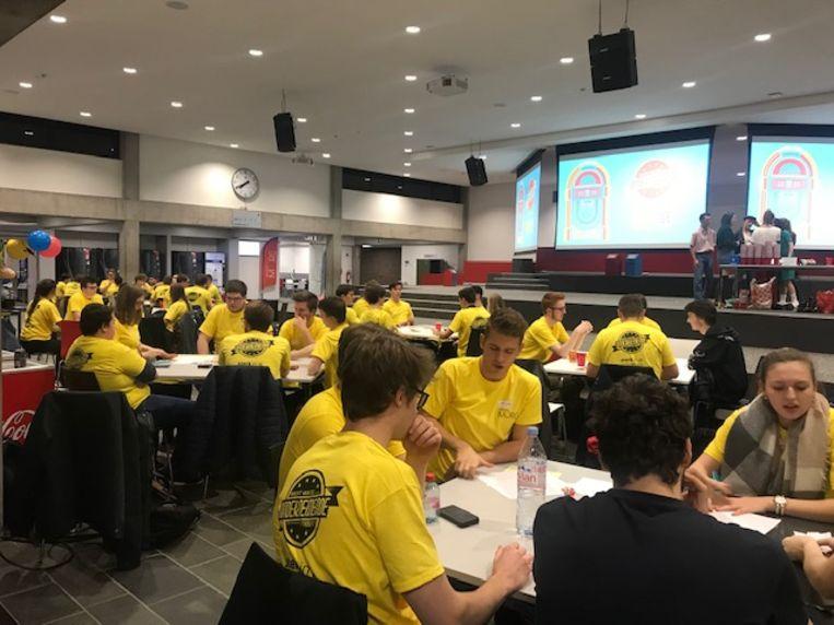 200 studenten namen deel aan de Nacht van de Ondernemende Student.