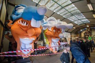 Veel bekijks voor jaarlijkse open dag wagenbouwers in Boemeldonck