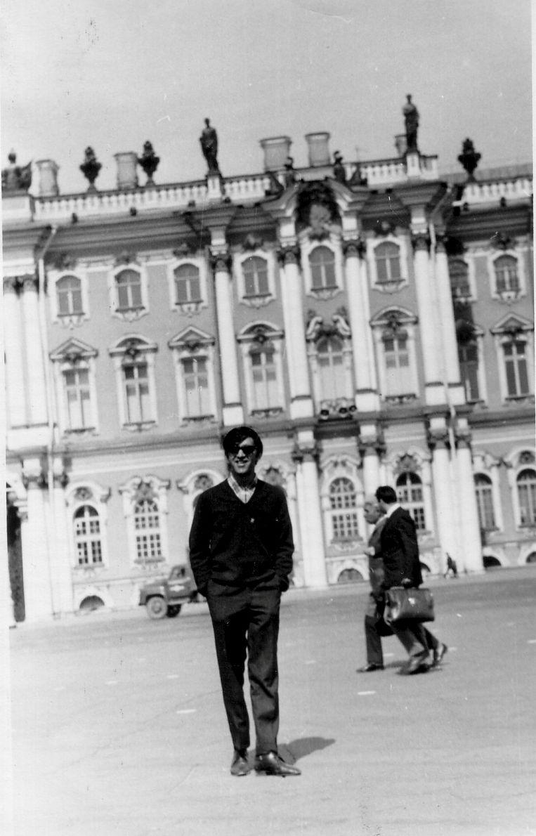 Ahmed Timol in de Sovjet-Unie, waar hij negen maanden verbleef nadat hij zich had aangesloten bij de SCAP, de verboden Zuid-Afrikaanse communistische partij.  Beeld Privé-archief