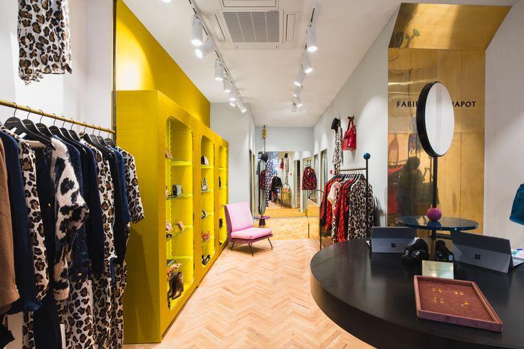 De winkel van Fabienne Chapot in Antwerpen.