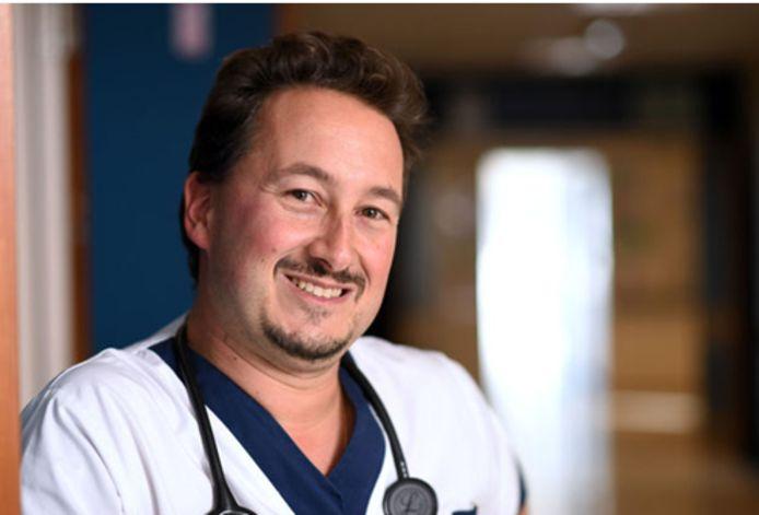 Philippe Devos, président de l'Association Belge des Syndicats médicaux (ABSyM)