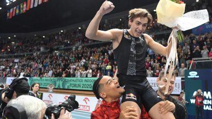 """Een portret van Duplantis, de nieuwe Bubka: """"Op zijn vierde sprong hij met de polsstok zoals andere jongens tegen een balletje trapten"""""""