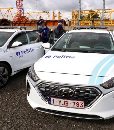 Gentse wijkpolitie rijdt voortaan met 7 milieuvriendelijke auto's